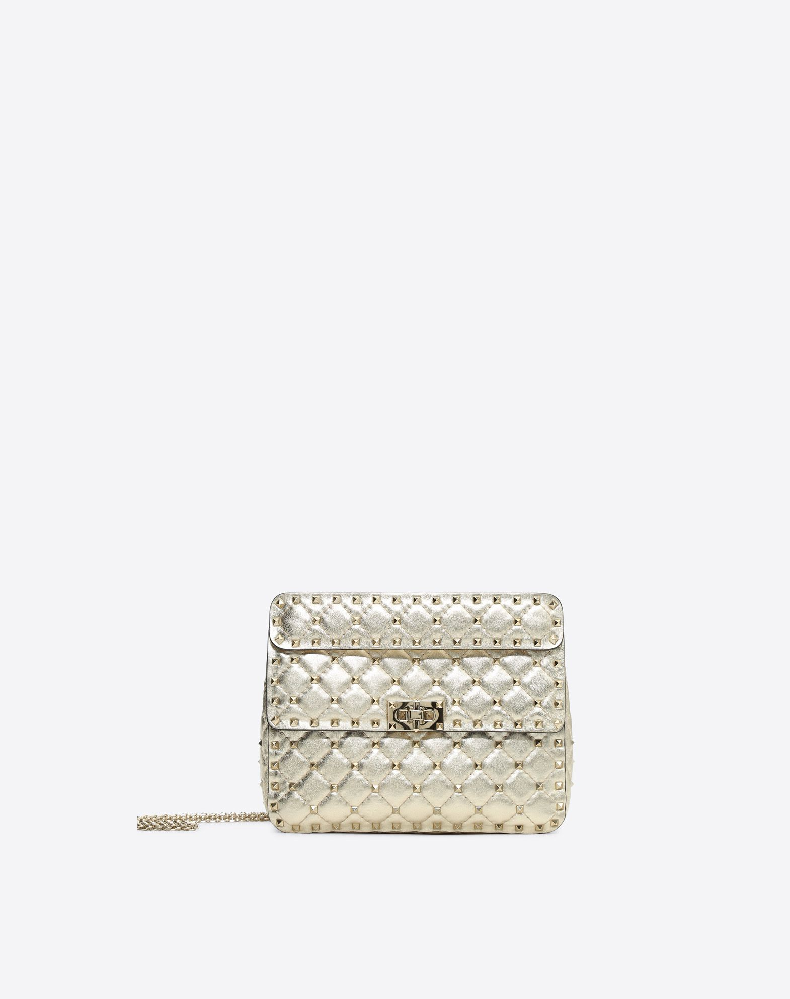 VALENTINO Rockstud Spike Medium Chain Bag Shoulder bag D f