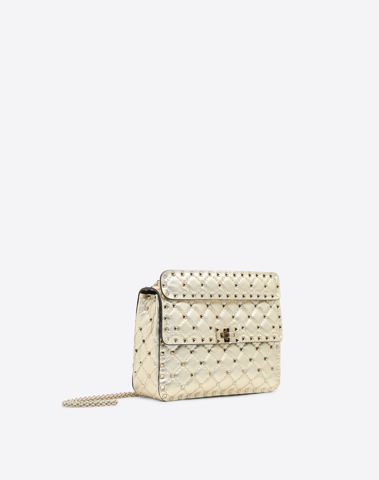VALENTINO Rockstud Spike Medium Chain Bag Shoulder bag D r