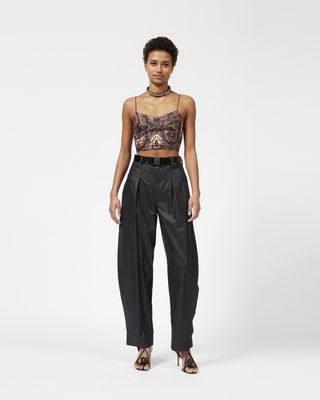 HEXI wide leg trousers