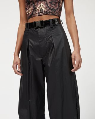 ISABEL MARANT PANT Woman HEXI wide leg trousers  r