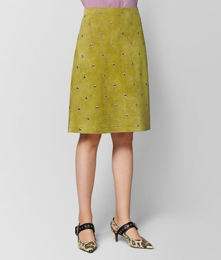 CHAMOMILE SUEDE SKIRT
