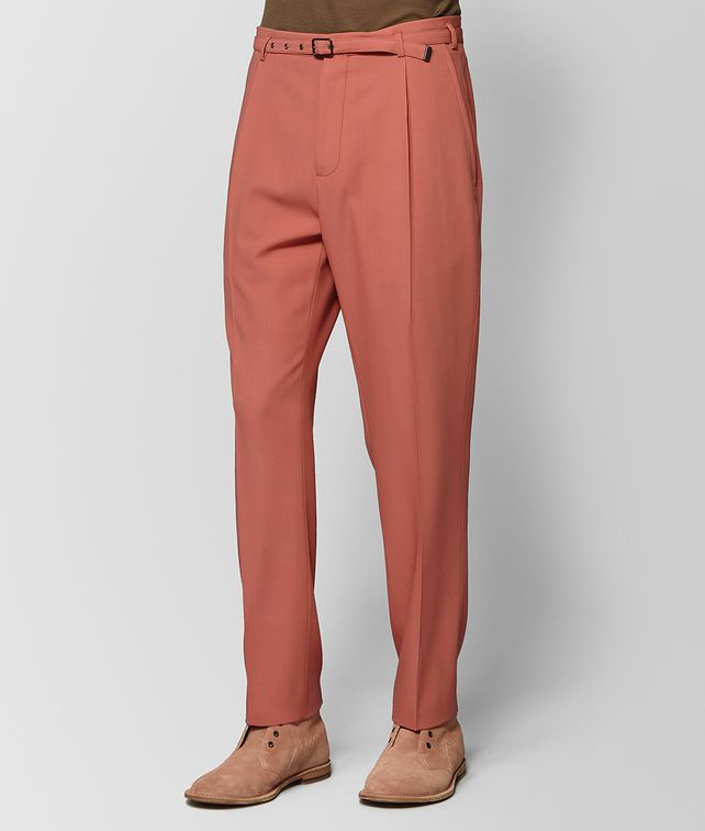 BOTTEGA VENETA HIBISCUS WOOL PANT Trouser or jeans Man fp
