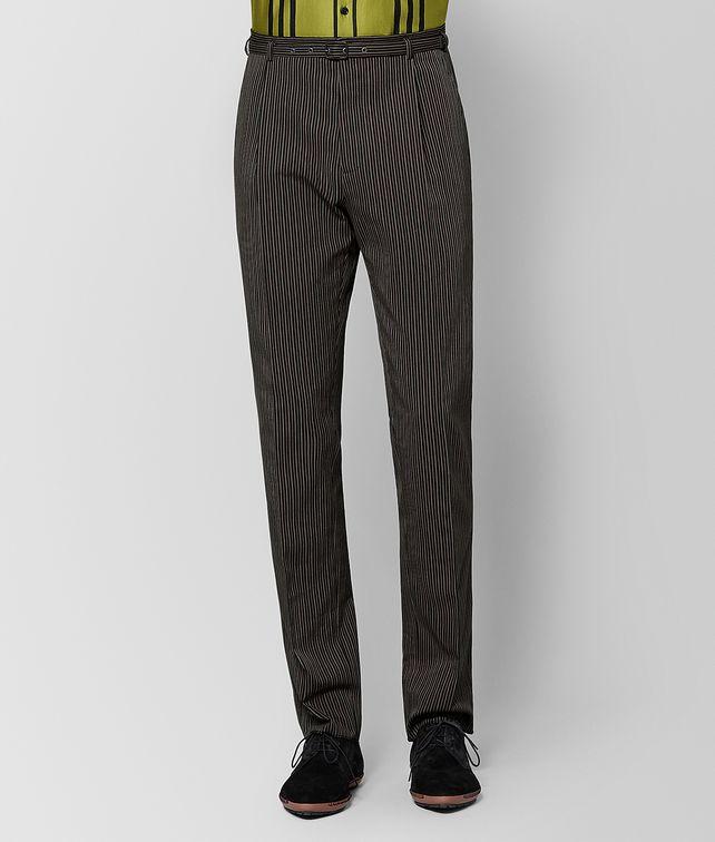 BOTTEGA VENETA NERO STEEL WOOL PANT Trouser or jeans [*** pickupInStoreShippingNotGuaranteed_info ***] fp