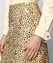 BOTTEGA VENETA LIGHT BUTTERSCOTCH ALCANTARA SKIRT Skirt or trouser Woman ap