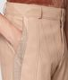 peach rose lamb pant Front Detail Portrait