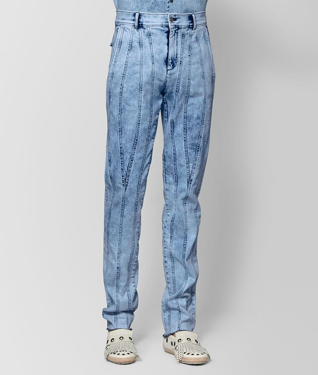 BOTTEGA VENETA ARCTIC DENIM PANT Pants and Shorts [*** pickupInStoreShippingNotGuaranteed_info ***] fp