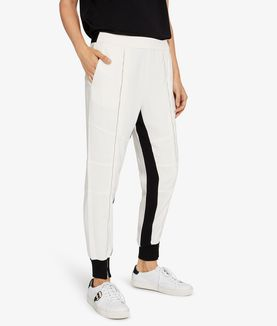 KARL LAGERFELD ZIPPER DETAIL TRACK PANTS