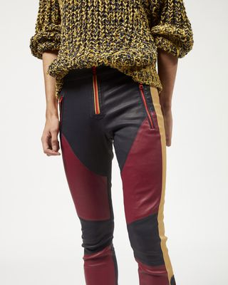 ISABEL MARANT PANT Man ASPEN leather leggings r