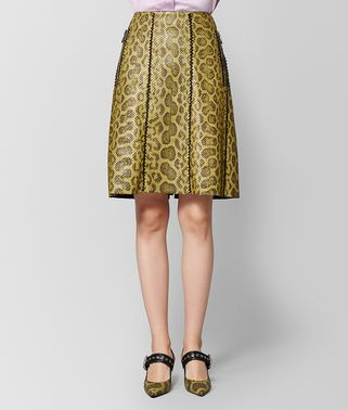 CHAMOMILE ANACONDA SKIRT