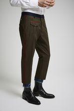DSQUARED2 Cotton Twill Hockney Pants Trousers Man