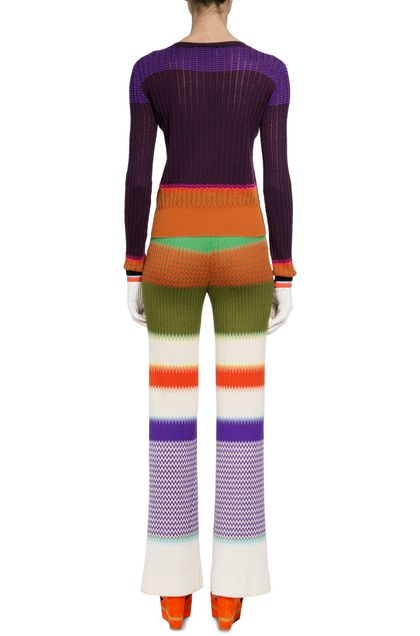 MISSONI Trouser Purple Woman - Front