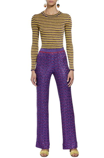 MISSONI Trouser Purple Woman - Back