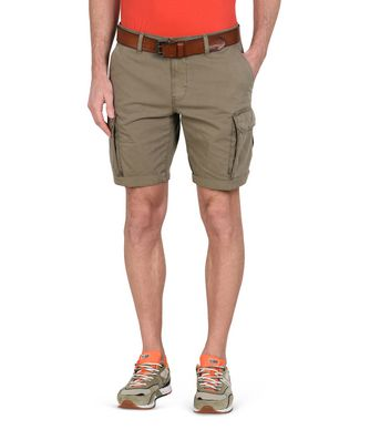NAPAPIJRI NORE MAN BERMUDA SHORTS,MILITARY GREEN