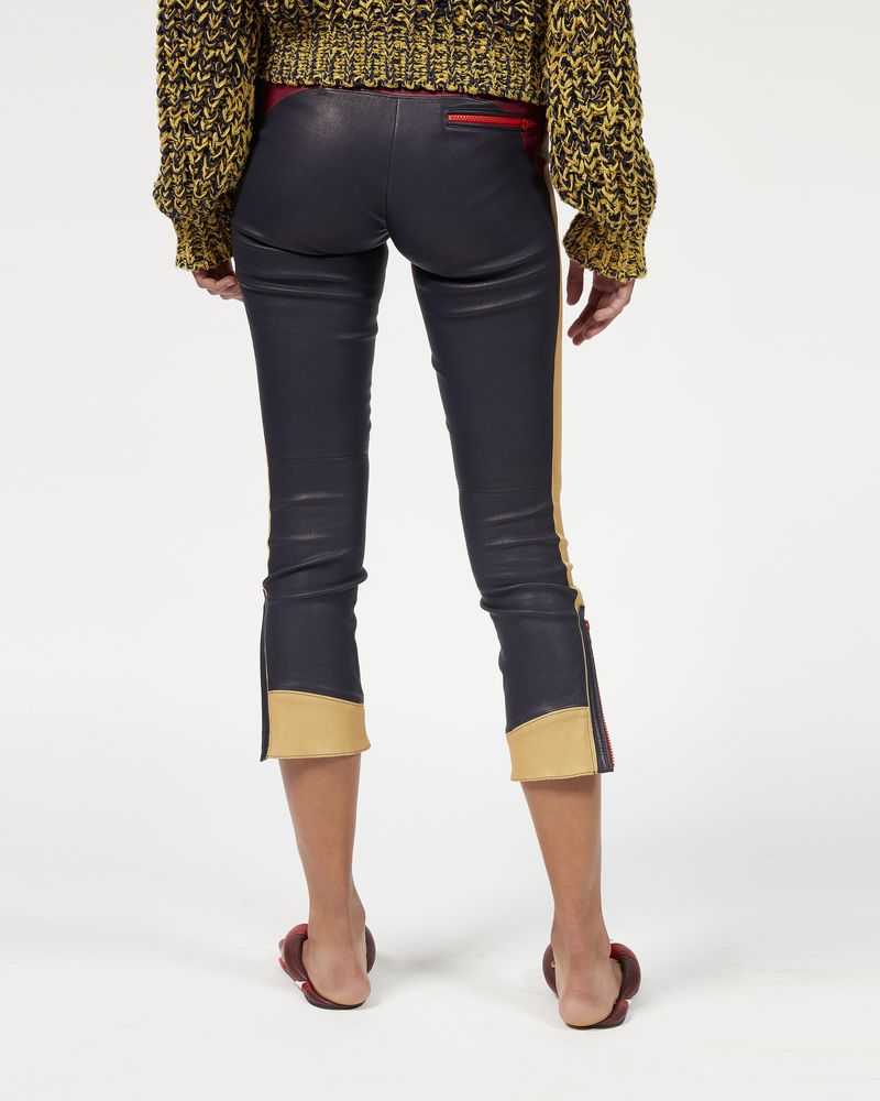 HAPPY zipped leather leggings ISABEL MARANT