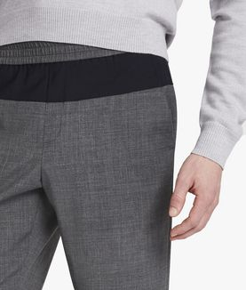 KARL LAGERFELD TAILORED WOOL JOGGER