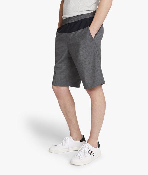 KARL LAGERFELD Tailored wool shorts 12_f