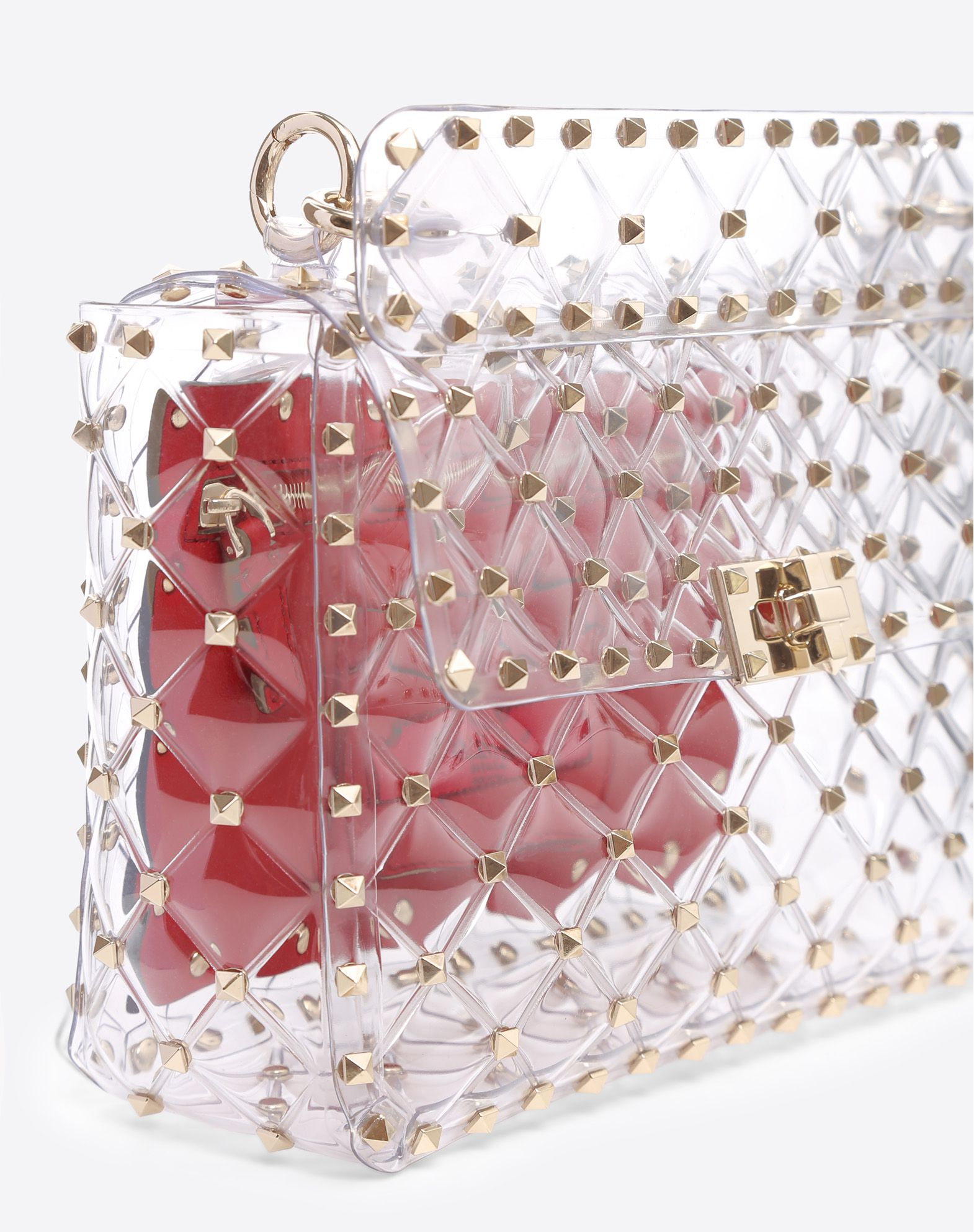 VALENTINO GARAVANI Rockstud Spike Medium Chain Bag Shoulder bag D b