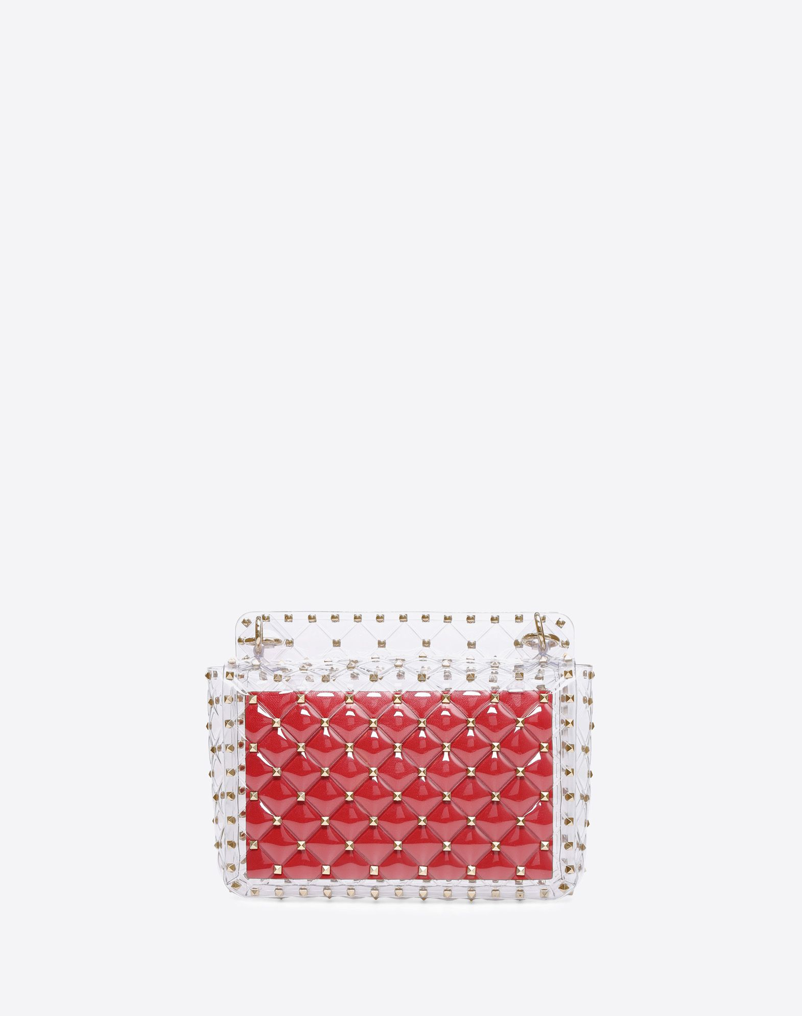 VALENTINO GARAVANI Rockstud Spike Medium Chain Bag Shoulder bag D d