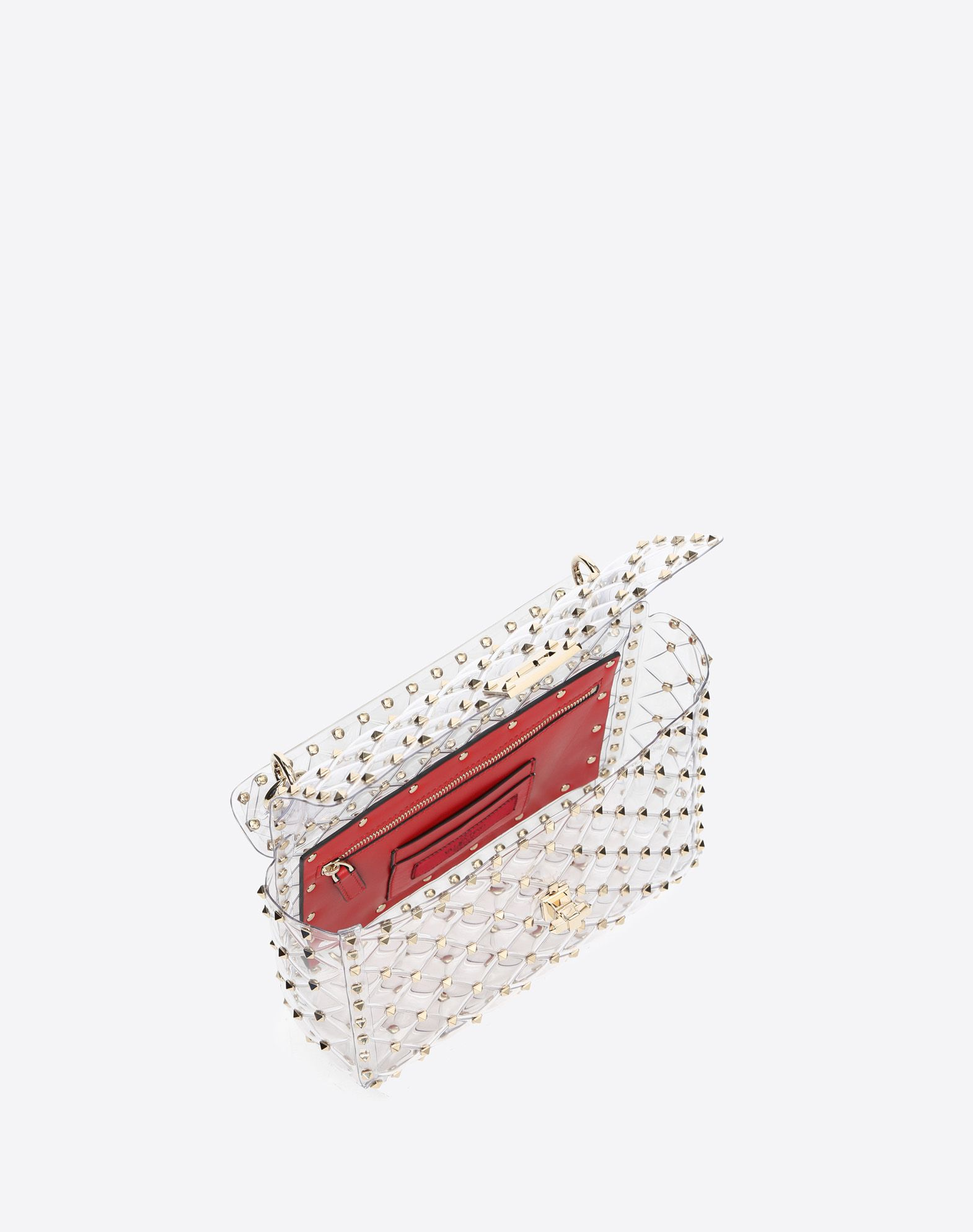 VALENTINO GARAVANI Rockstud Spike Medium Chain Bag Shoulder bag D e