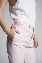 DSQUARED2 Stretch Twill Cotton Londean Pants Pants Woman