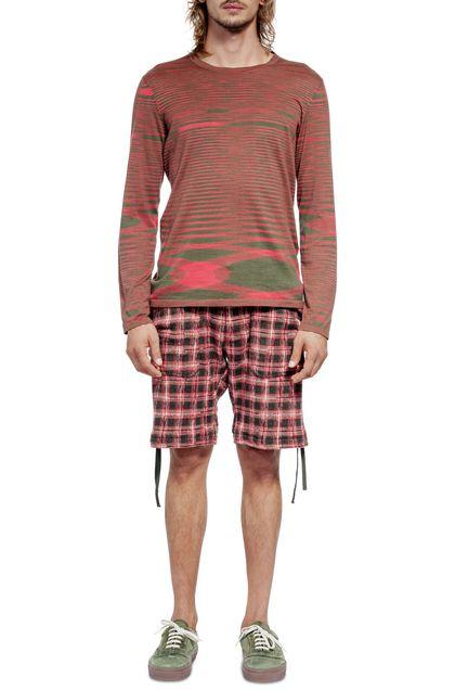 MISSONI Shorts Red Man - Back
