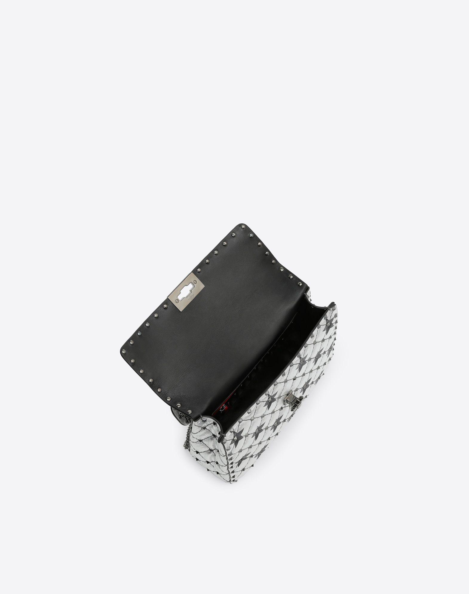 VALENTINO GARAVANI Rockstud Spike.It Medium Chain Bag Shoulder bag D e