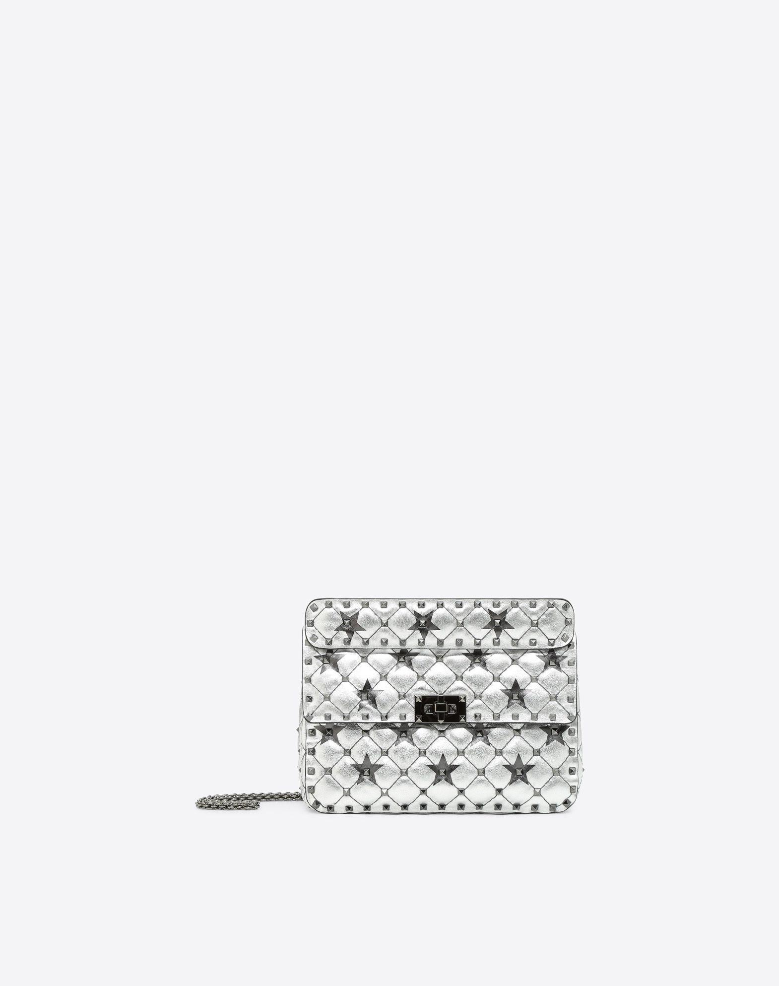 VALENTINO GARAVANI Rockstud Spike.It Medium Chain Bag Shoulder bag D f