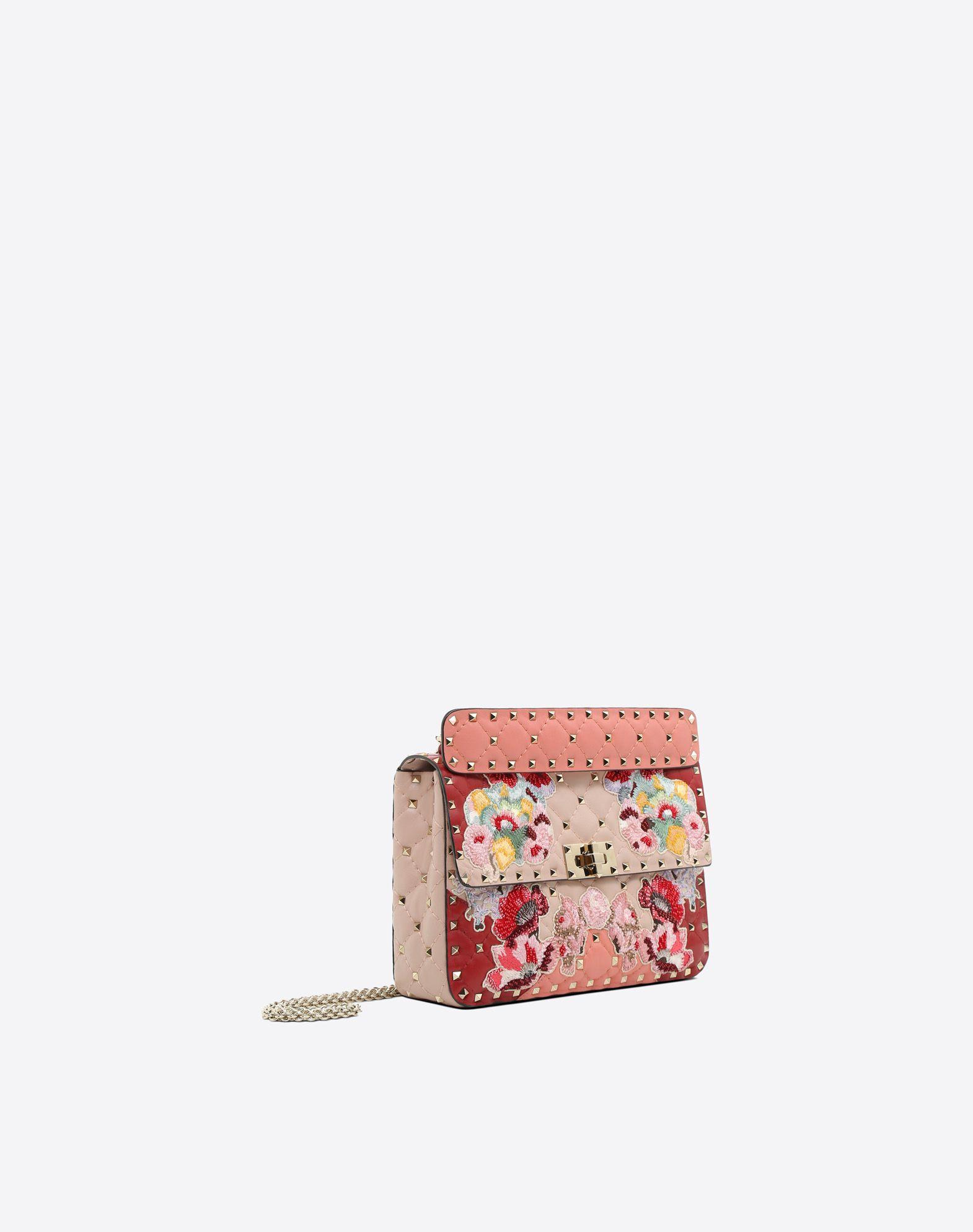 VALENTINO GARAVANI Rockstud Spike.It Medium Chain Bag Shoulder bag D r