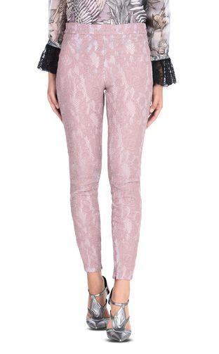 JUST CAVALLI Casual pants D Macramé lace long trousers f