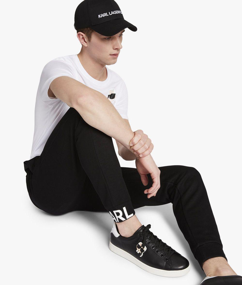 KARL LAGERFELD UNISEX - Karl's Essential Track Pants  Pants E d