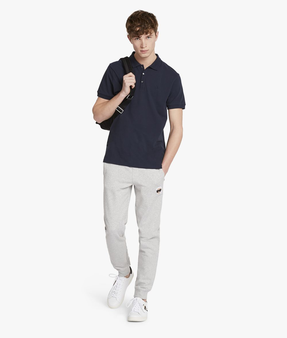 KARL LAGERFELD Karl's Essential Track Bottoms Trousers Man d
