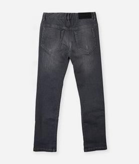 KARL LAGERFELD DARK GRAY SLIM FIT JEANS
