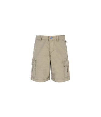 NAPAPIJRI K NOTO KID KID BERMUDA SHORTS,MILITARY GREEN