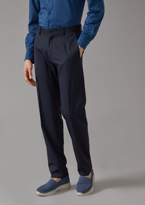 Woven Twill Trousers