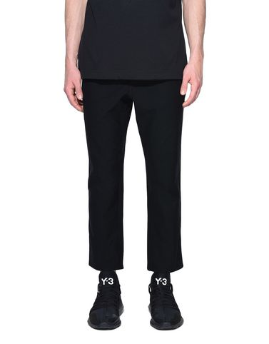 Y-3 Casual trouser Man Y-3 Twill Cropped Pants r