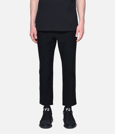 Y-3 Casual pants Man Y-3 Twill Cropped Pants r