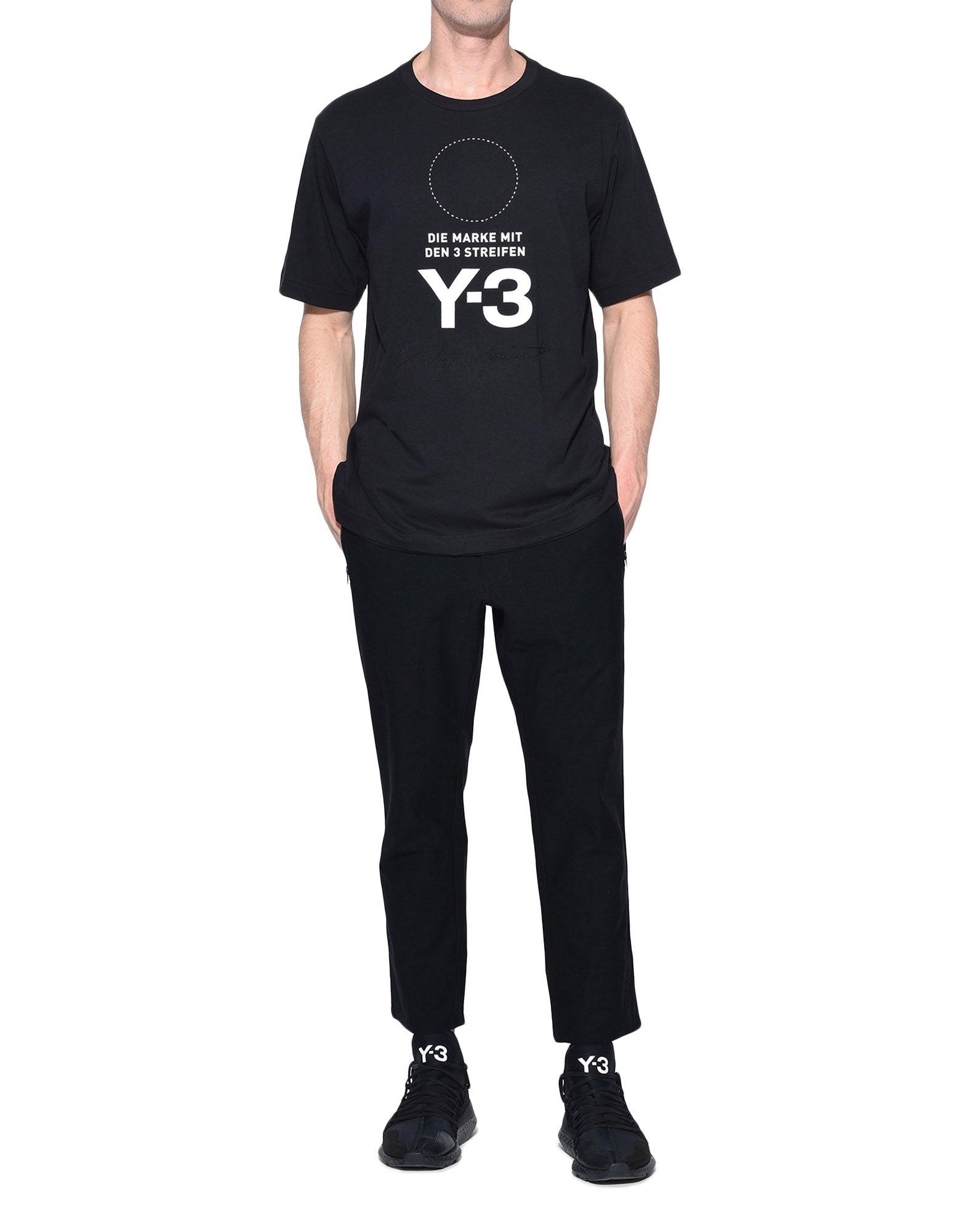 Y-3 Y-3 Twill Cropped Pants Hose Herren a