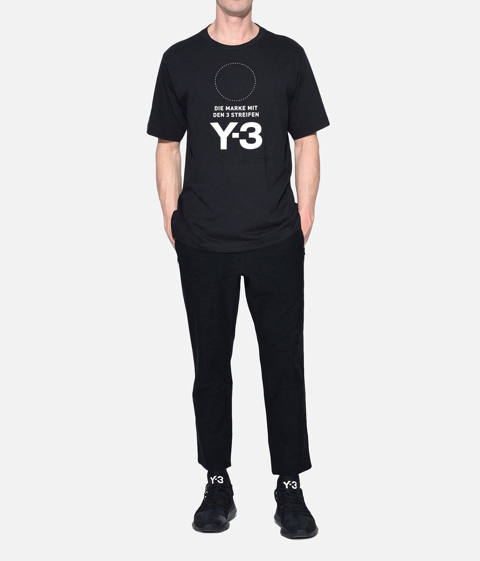 Y-3 Y-3 Twill Cropped Pants Pantalon Homme a