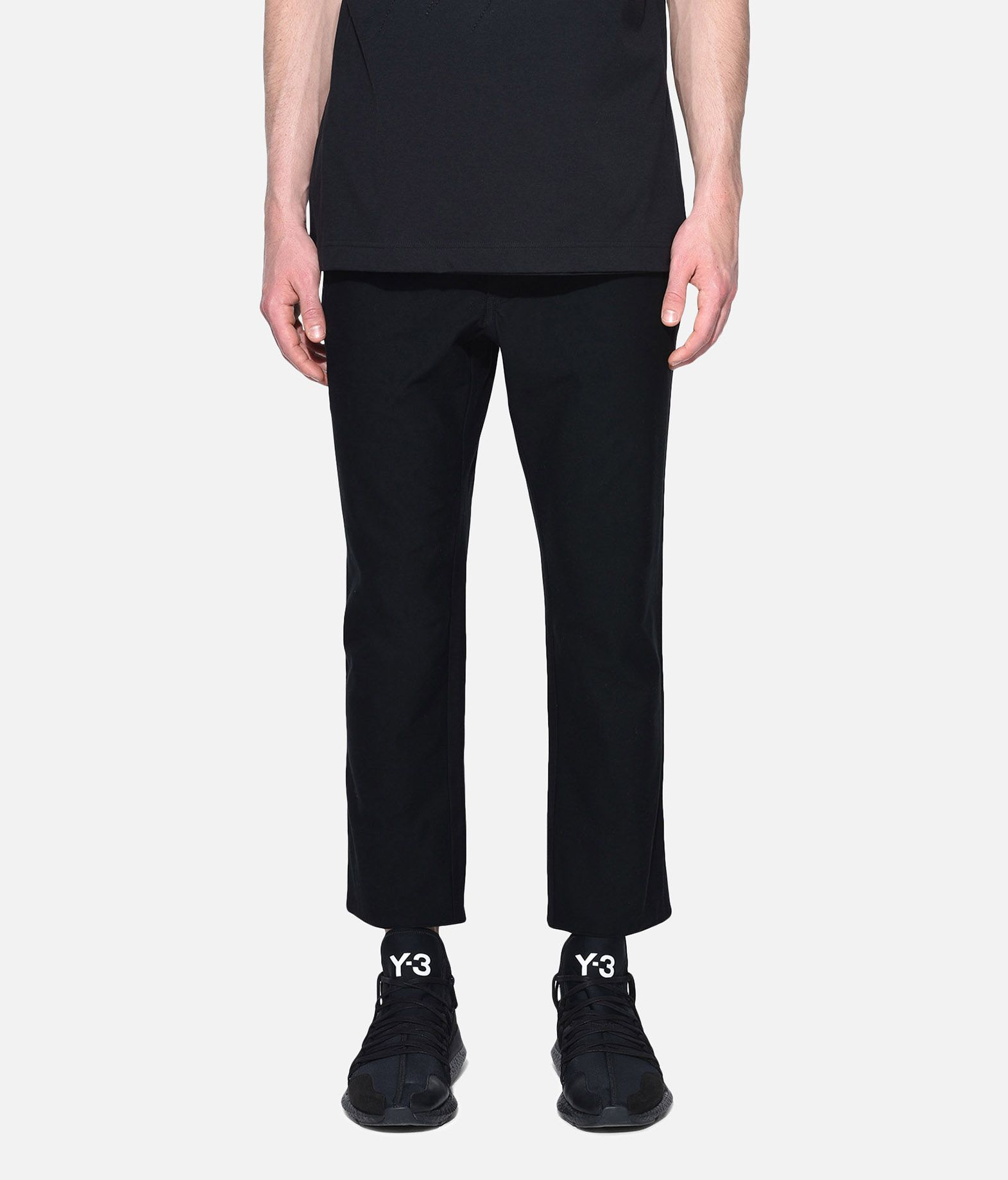 Y-3 Y-3 Twill Cropped Pants Casual trouser Man r