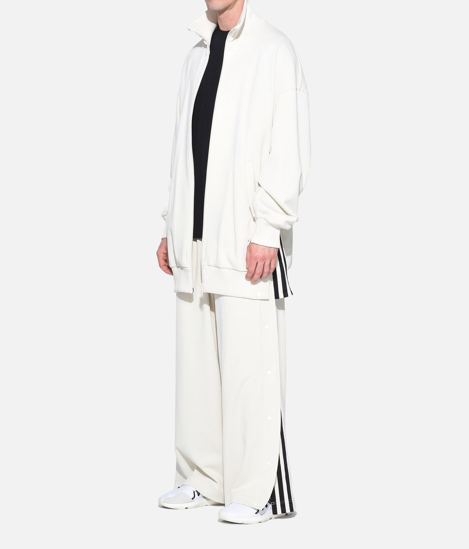 Y-3 Y-3 3-Stripes Matte Snap Track Pants Track pant Man a
