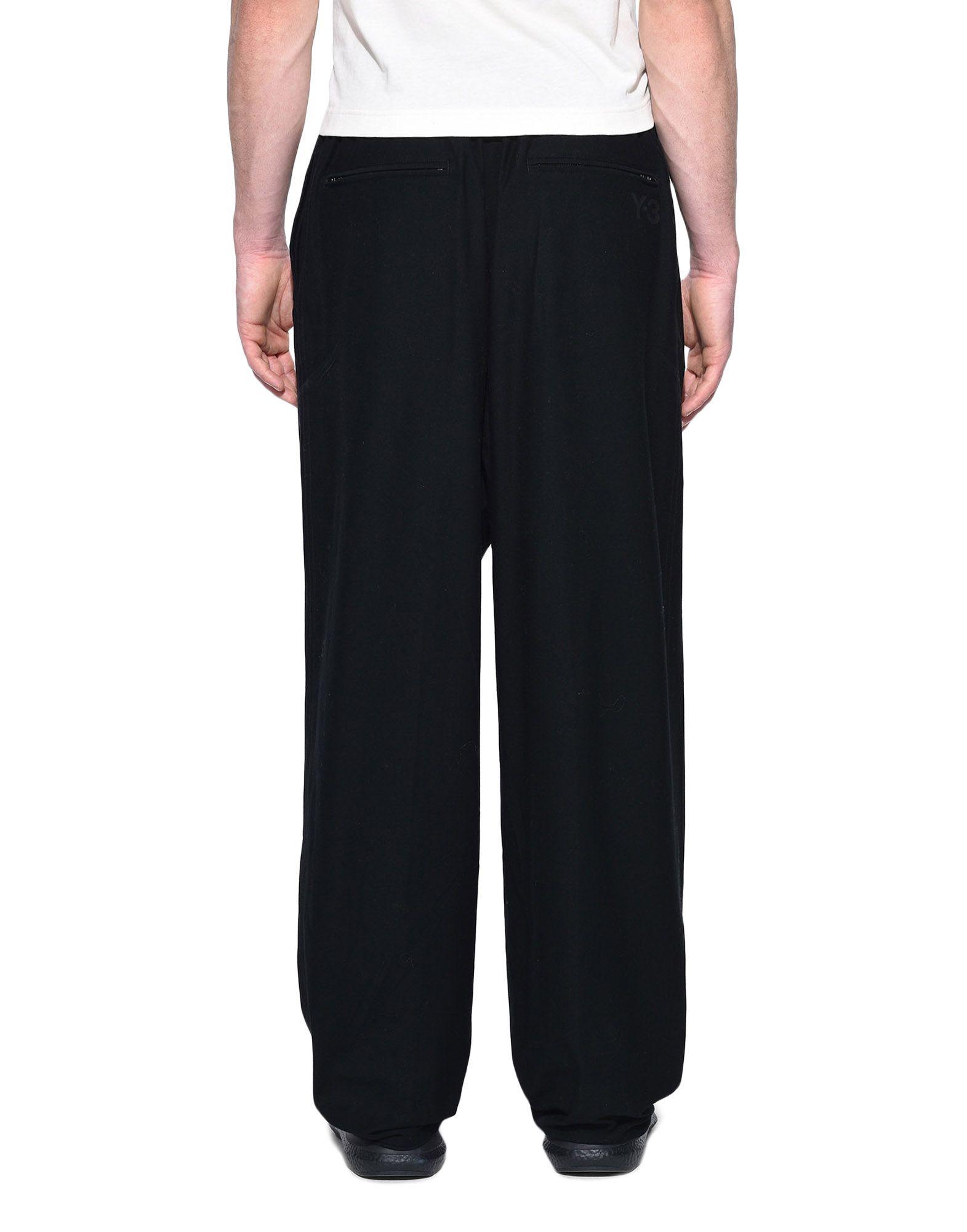Y-3 Y-3 Twill Wide Pants Casual pants Man d