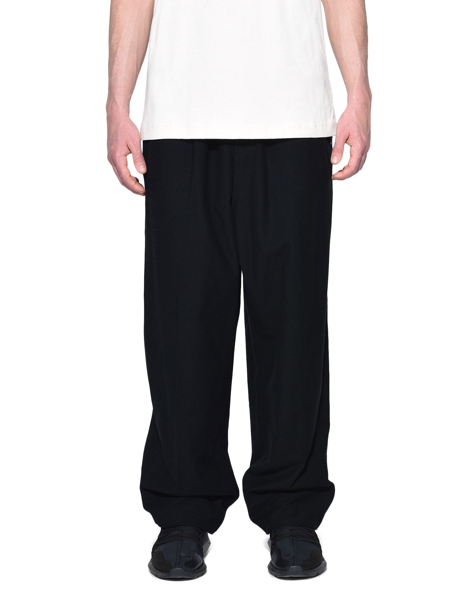 Y-3 Y-3 Twill Wide Pants Casual pants Man r