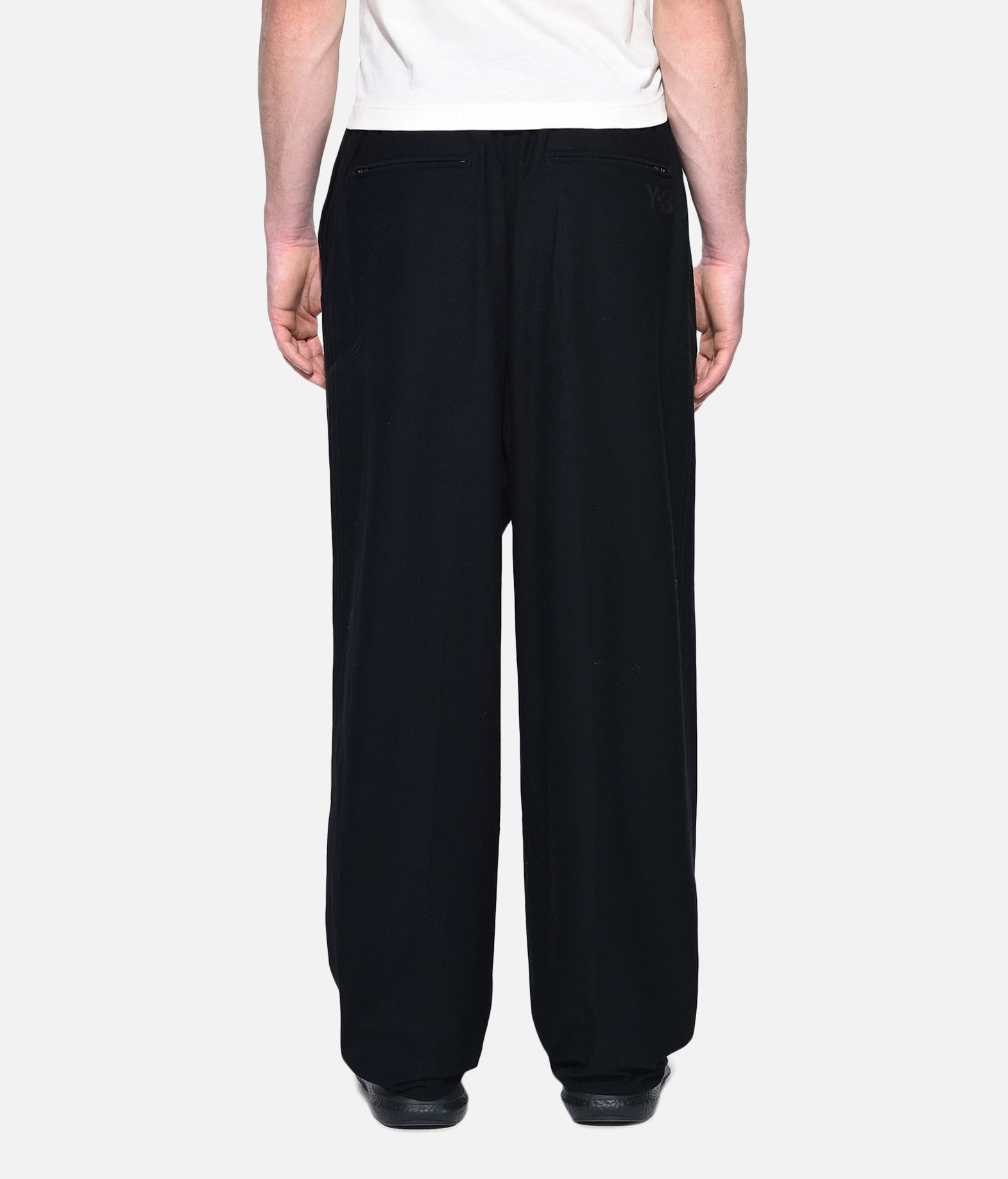 Y-3 Y-3 Twill Wide Pants Casual trouser Man d