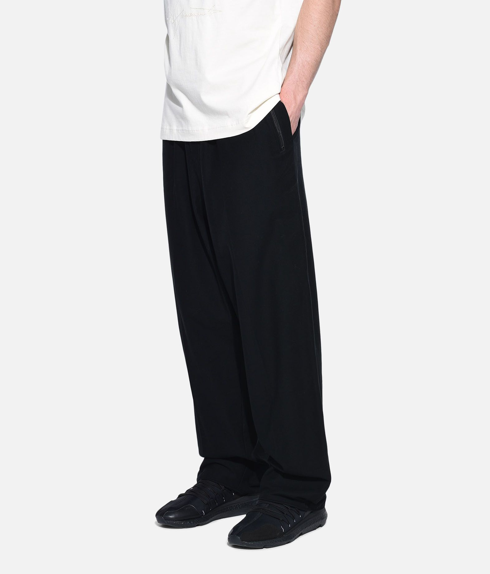 Y-3 Y-3 Twill Wide Pants Casual trouser Man e