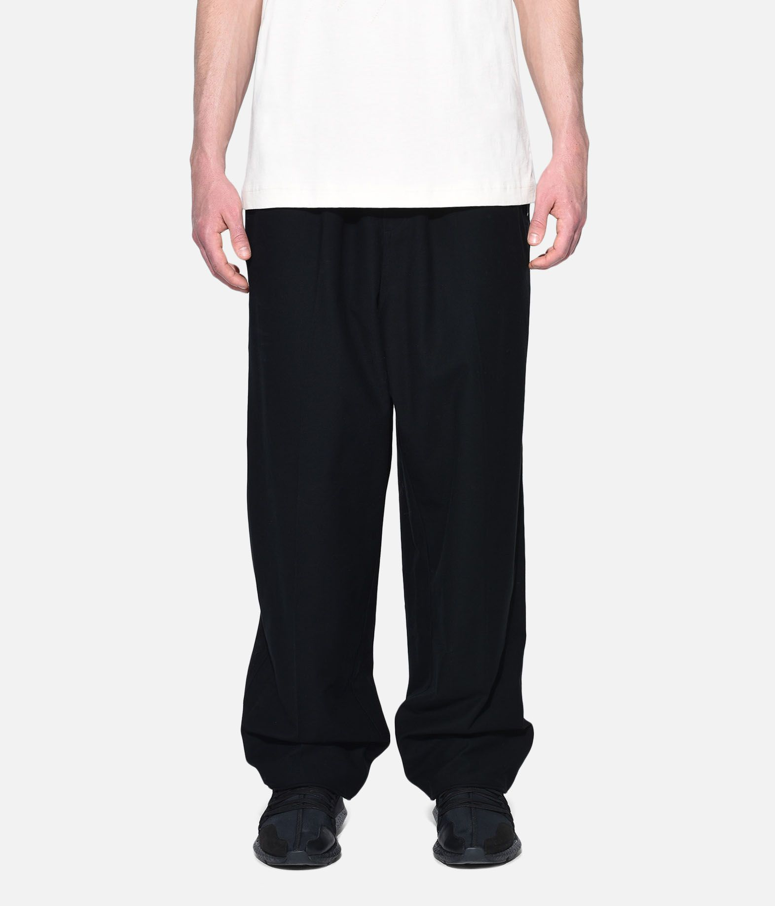 Y-3 Y-3 Twill Wide Pants Casual trouser Man r