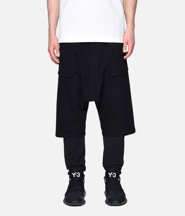 Y-3 Sweat shorts Man Y-3 Sarouel Shorts r