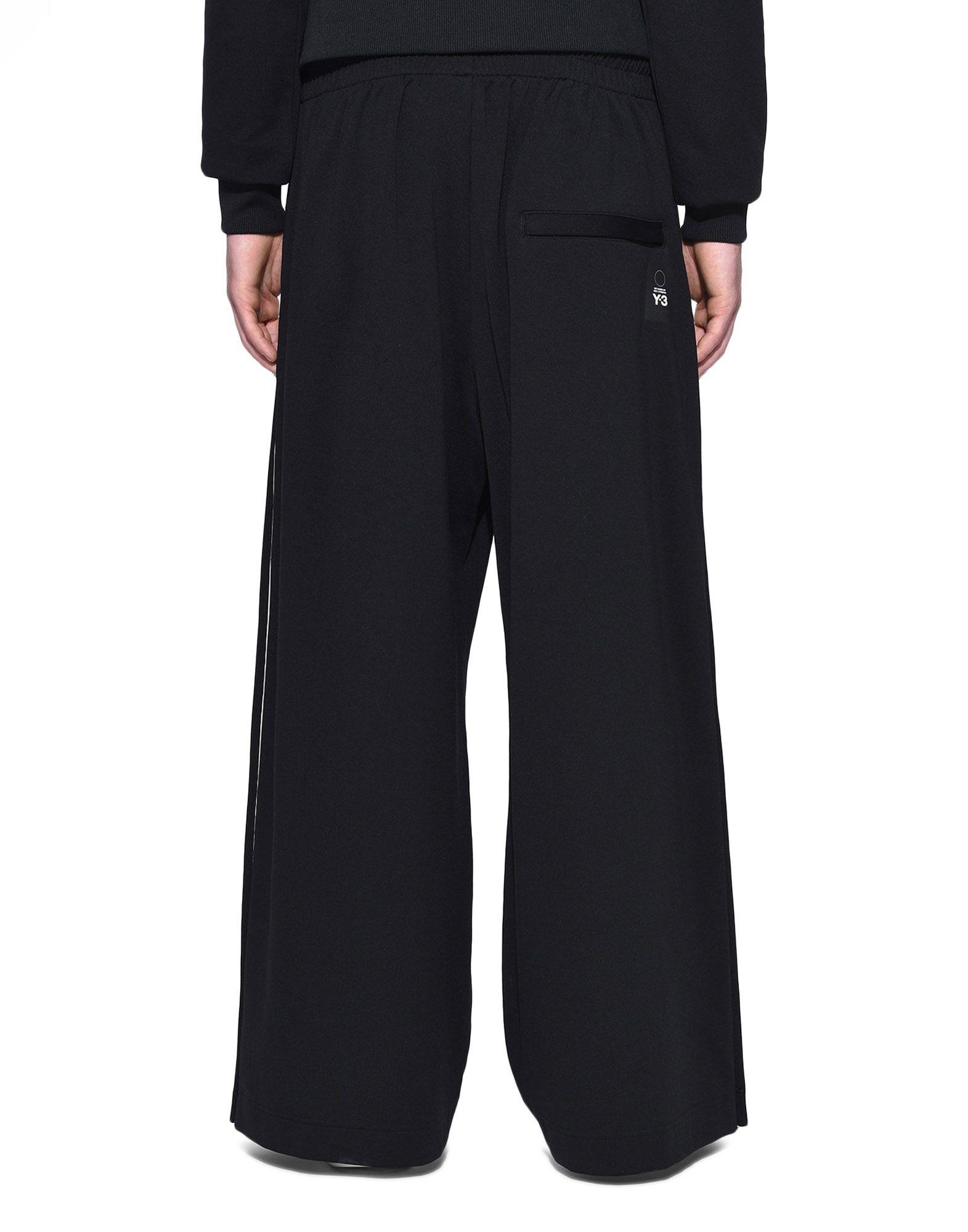 Y-3 Y-3 3-Stripes Matte Snap Track Pants Track pant Man d