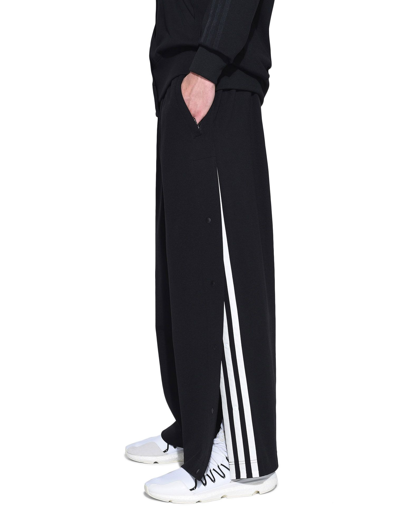 Y-3 Y-3 3-Stripes Matte Snap Track Pants Track pant Man e