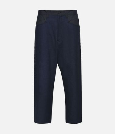 Y-3 Herringbone Tailored Pants