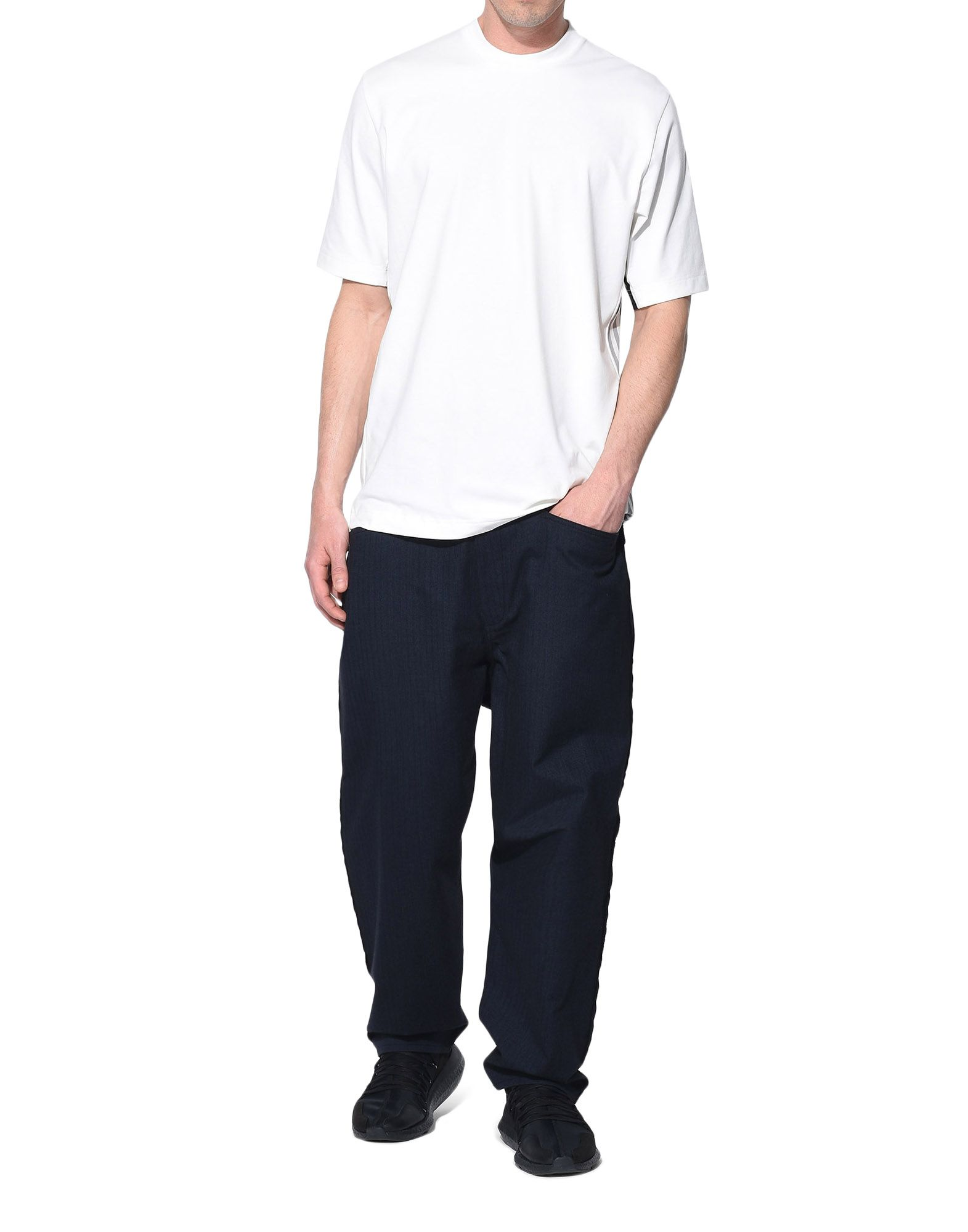 Y-3 Y-3 Herringbone Tailored Pants Klassische Hosen Herren a